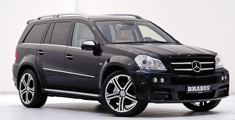 Mercedes-Benz GL: Brabus upravuje faceliftované SUV: - fotka 5