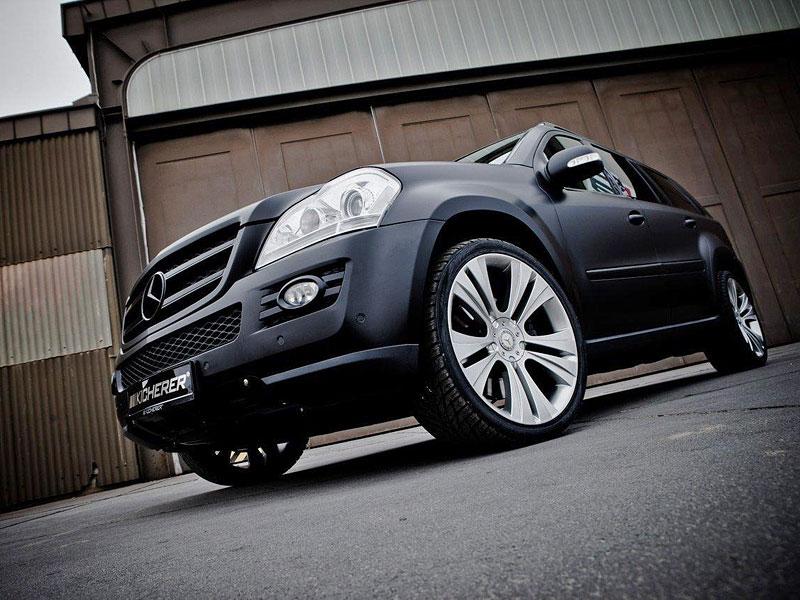 Mercedes GL 420 CDI by Kircherer: 900 Nm v akci!: - fotka 3
