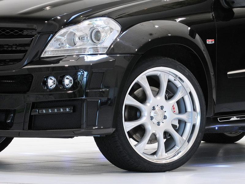 Mercedes-Benz GL: Brabus upravuje faceliftované SUV: - fotka 8