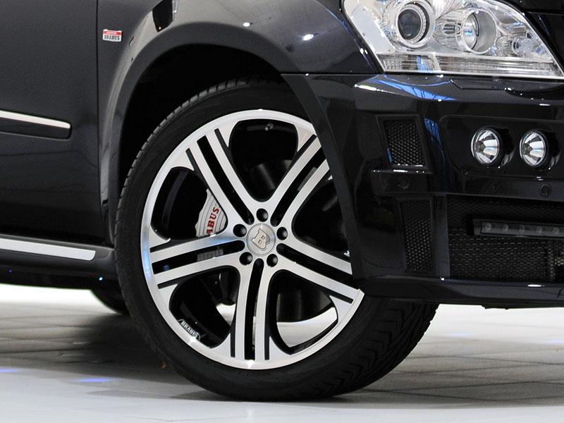 Mercedes-Benz GL: Brabus upravuje faceliftované SUV: - fotka 9