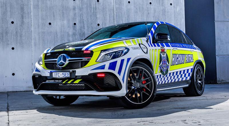 Mercedes-AMG GLE 63 S Coupe jako australský policejní speciál: - fotka 2