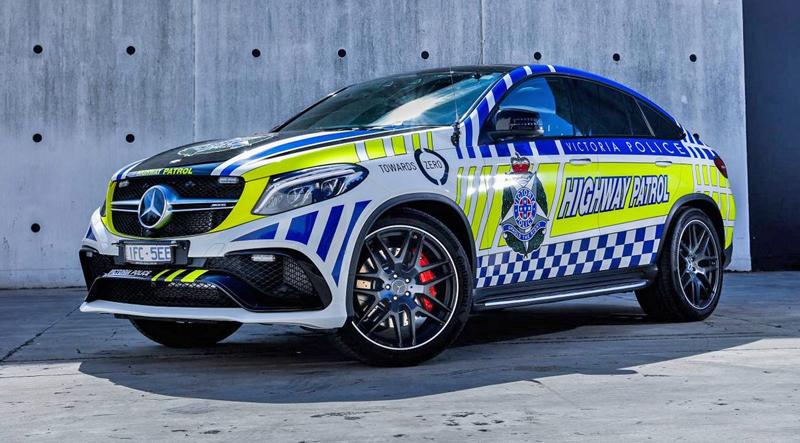 Mercedes-AMG GLE 63 S Coupe jako australský policejní speciál: - fotka 3
