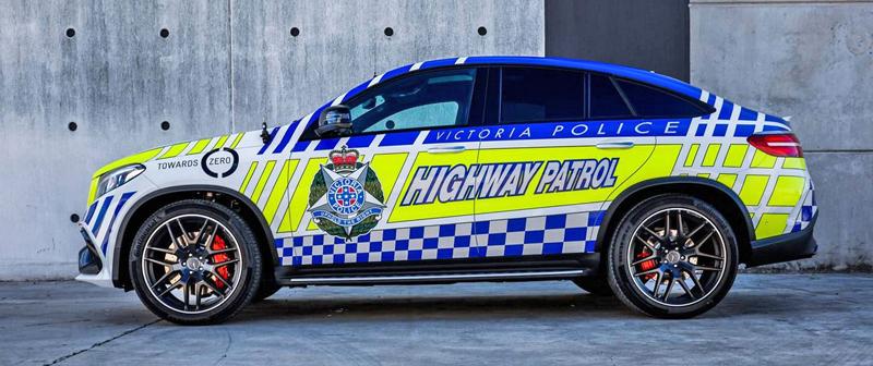 Mercedes-AMG GLE 63 S Coupe jako australský policejní speciál: - fotka 4