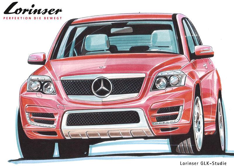 Lorinser chystá úpravu Mercedesu GLK: - fotka 1