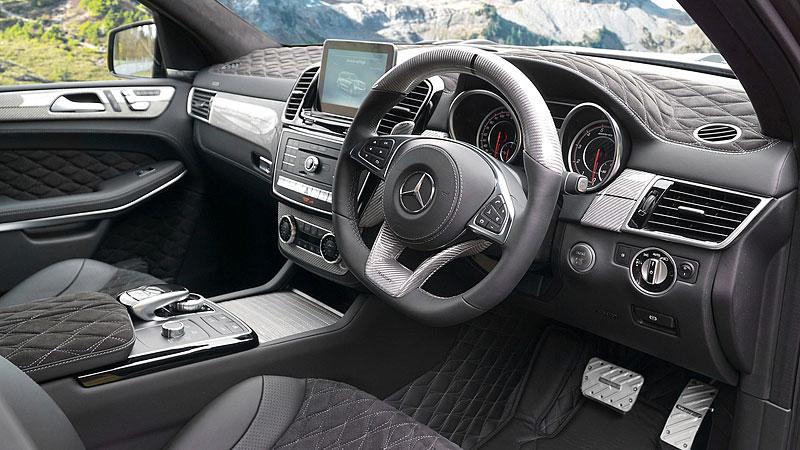Mercedes-AMG GLS 63 od Mansory má 840 koní a jede skoro tři sta: - fotka 1