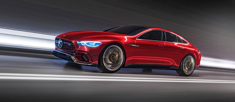 Mercedes-AMG GT Concept: Dárek k padesátinám: - fotka 4