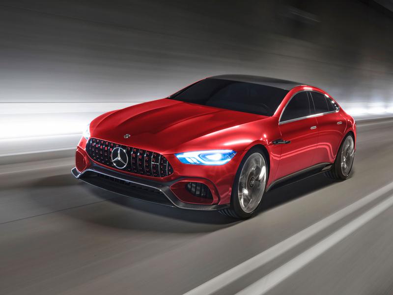 Mercedes-AMG GT Concept: Dárek k padesátinám: - fotka 5