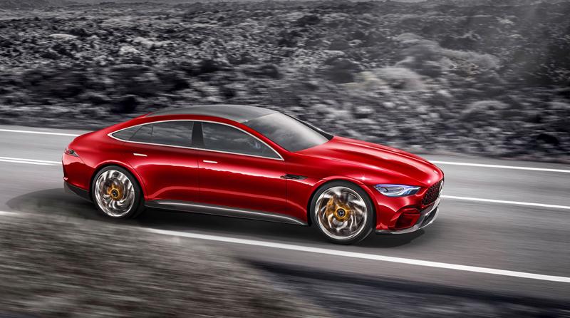 Mercedes-AMG GT Concept: Dárek k padesátinám: - fotka 6