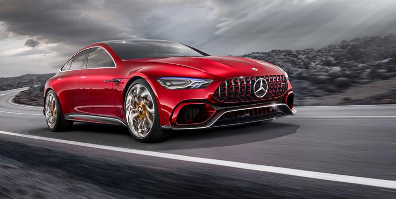 Mercedes-AMG GT Concept: Dárek k padesátinám: - fotka 7