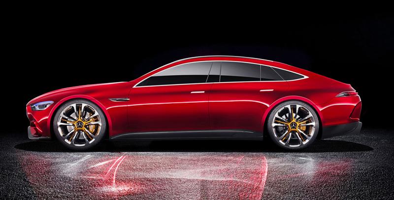 Mercedes-AMG GT Concept: Dárek k padesátinám: - fotka 8
