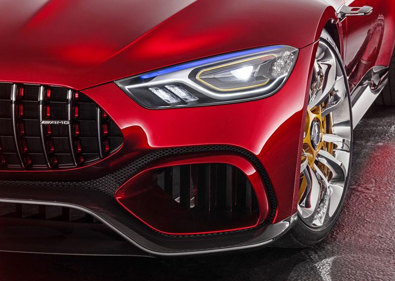 Mercedes-AMG GT Concept: Dárek k padesátinám: - fotka 16