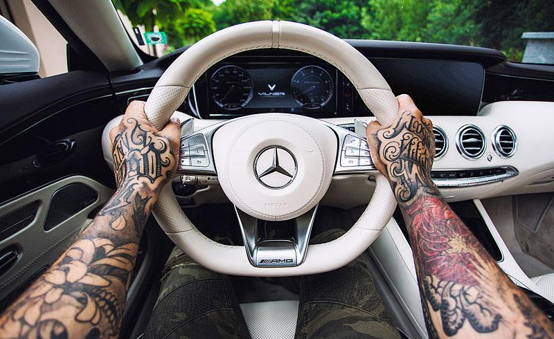 Mercedes-AMG S 63 Cabriolet po návštěvě u Vilner Design: - fotka 1
