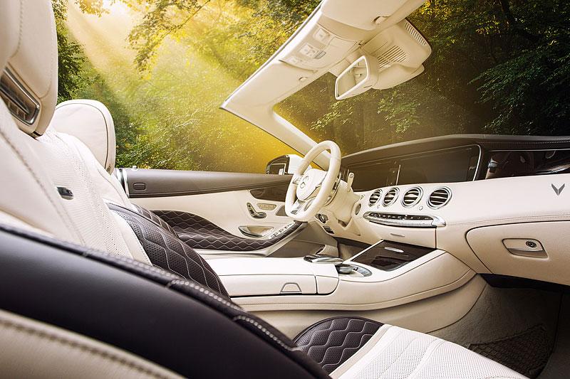 Mercedes-AMG S 63 Cabriolet po návštěvě u Vilner Design: - fotka 4