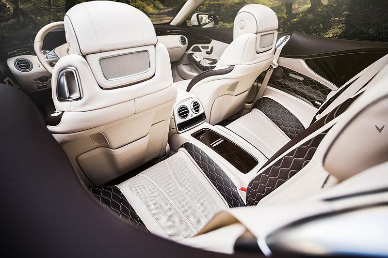Mercedes-AMG S 63 Cabriolet po návštěvě u Vilner Design: - fotka 5