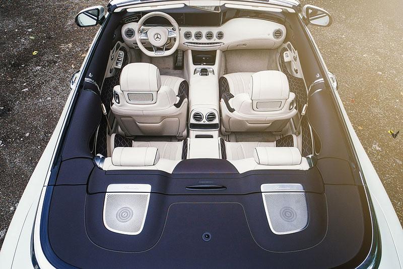 Mercedes-AMG S 63 Cabriolet po návštěvě u Vilner Design: - fotka 7
