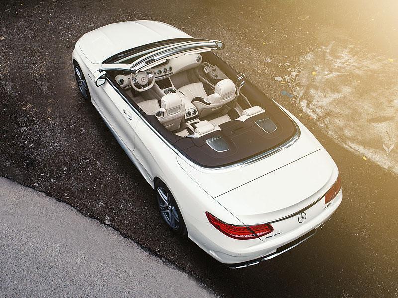 Mercedes-AMG S 63 Cabriolet po návštěvě u Vilner Design: - fotka 13