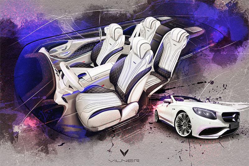 Mercedes-AMG S 63 Cabriolet po návštěvě u Vilner Design: - fotka 15