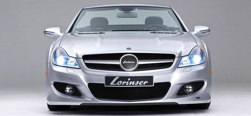 Lorinser Mercedes-Benz SL: aerokit baby: - fotka 1