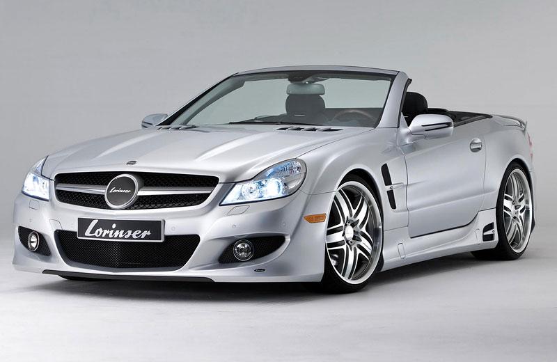 Lorinser Mercedes-Benz SL: aerokit baby: - fotka 3