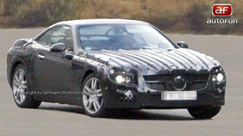 Spy Photos: Mercedes-Benz SL: - fotka 2
