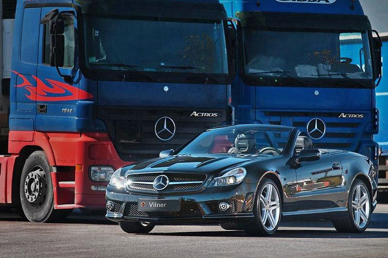 Mercedes-Benz SL 63 AMG Shadow Line: další kreace od Vilnera: - fotka 9