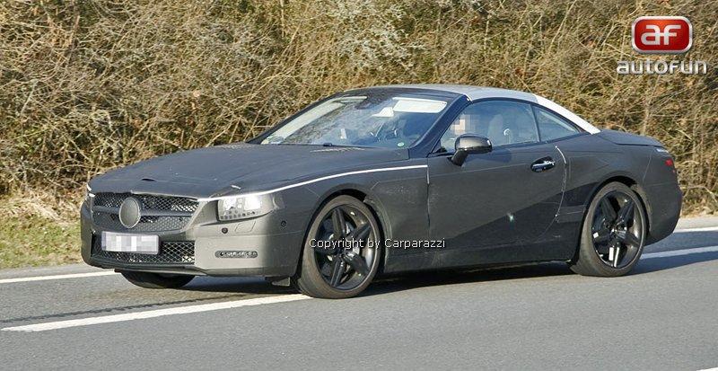 Spy Photos: Mercedes-Benz SL: - fotka 1