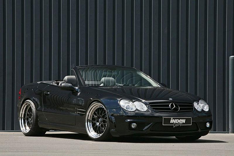 Mercedes-Benz SL 500: design AMG od INDEN-Design: - fotka 4