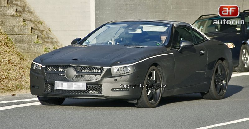 Spy Photos: Mercedes-Benz SL: - fotka 2