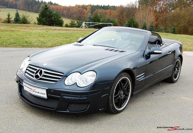 Mercedes-Benz SL by DesignSimik: optipaket nikdy neškodí: - fotka 3