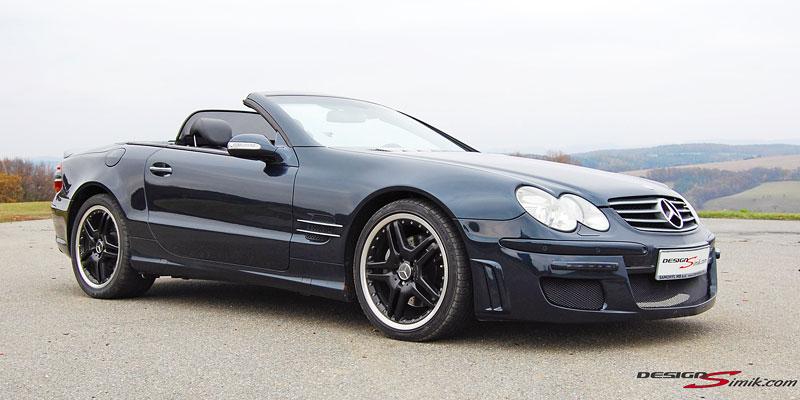 Mercedes-Benz SL by DesignSimik: optipaket nikdy neškodí: - fotka 4
