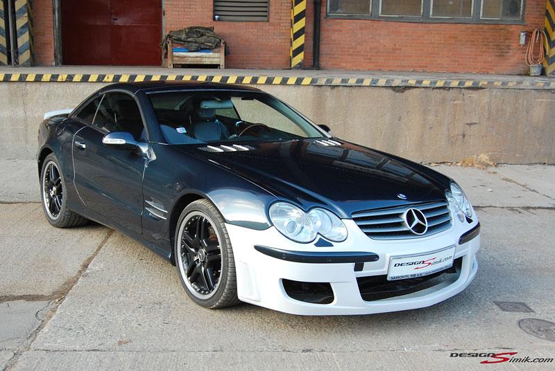 Mercedes-Benz SL by DesignSimik: optipaket nikdy neškodí: - fotka 5