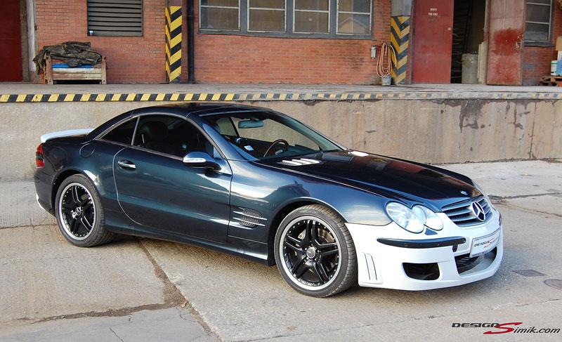 Mercedes-Benz SL by DesignSimik: optipaket nikdy neškodí: - fotka 6