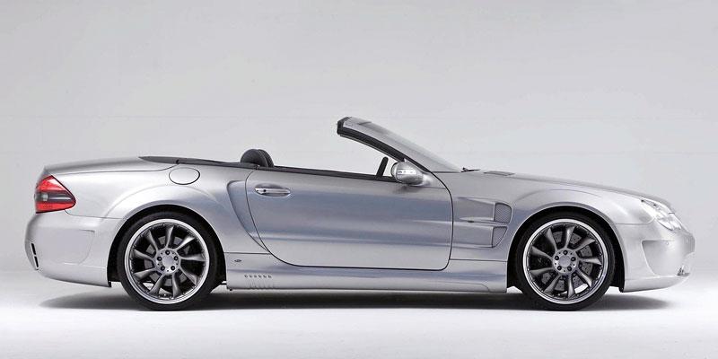 Lorinser Nardo3 Bi-Turbo: vyšlechtěný Mercedes SL: - fotka 3