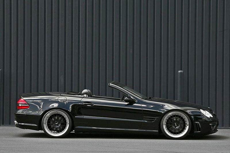 Mercedes-Benz SL 500: design AMG od INDEN-Design: - fotka 5