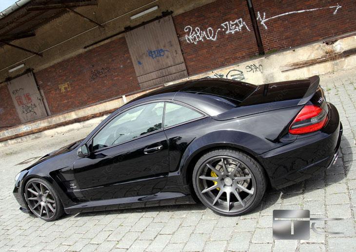 TC 65 EXESOR Biturbo: 700 koní a vzhled SL 65 AMG Black Series: - fotka 15