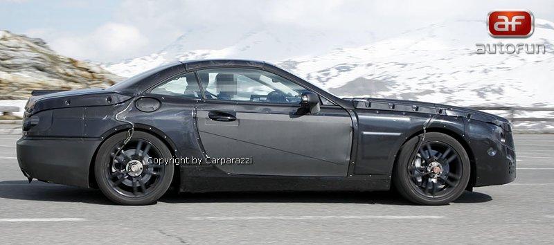 Spy Photos: Mercedes-Benz SL (C231) dostane automat s devíti: - fotka 6