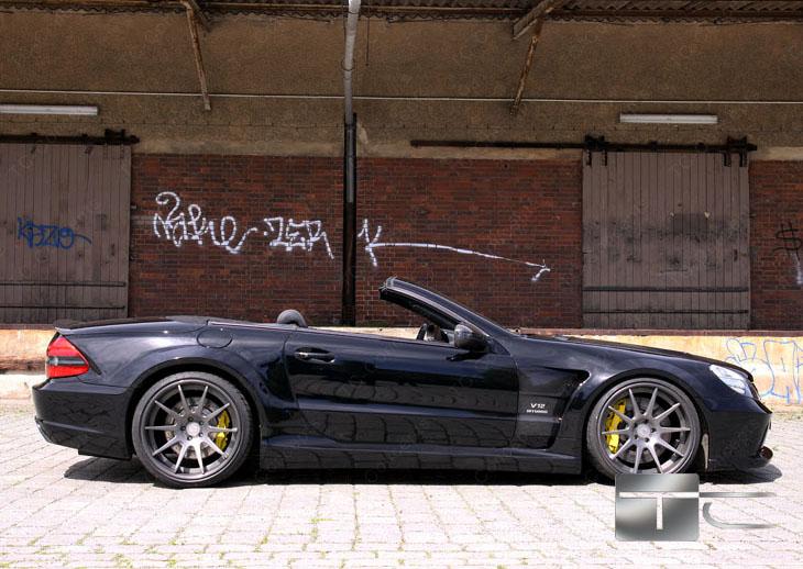 TC 65 EXESOR Biturbo: 700 koní a vzhled SL 65 AMG Black Series: - fotka 16