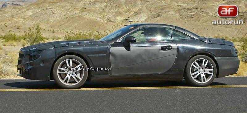 Spy Photos: Mercedes-Benz SL (C231) dostane automat s devíti: - fotka 7