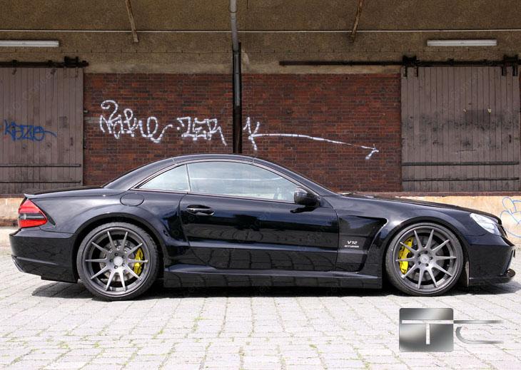 TC 65 EXESOR Biturbo: 700 koní a vzhled SL 65 AMG Black Series: - fotka 17