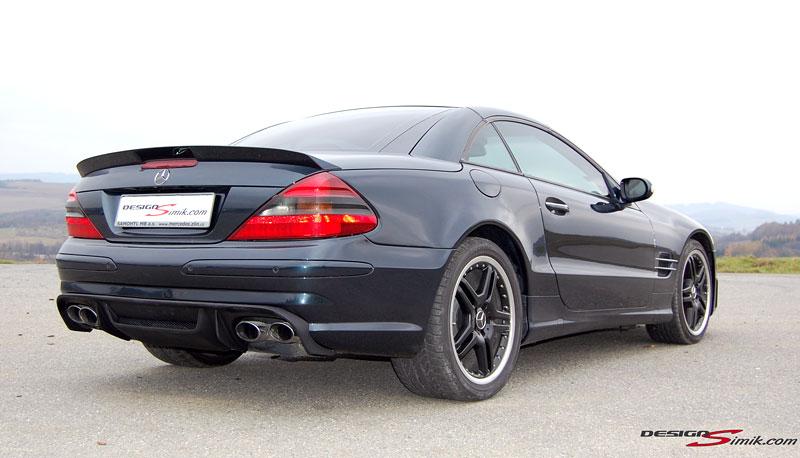 Mercedes-Benz SL by DesignSimik: optipaket nikdy neškodí: - fotka 7