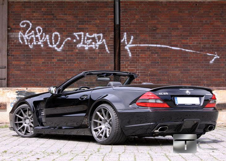 TC 65 EXESOR Biturbo: 700 koní a vzhled SL 65 AMG Black Series: - fotka 18