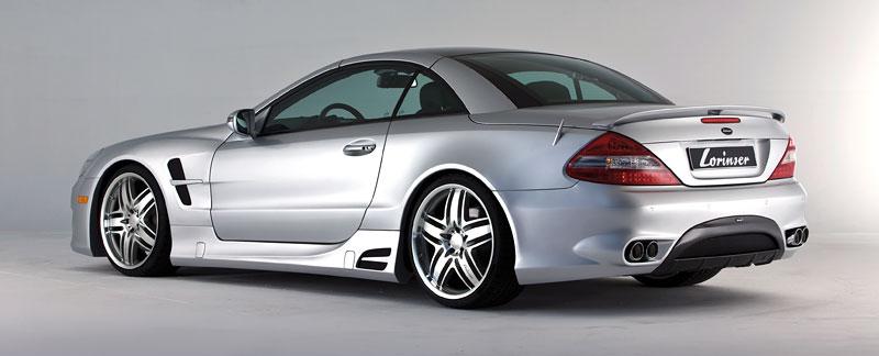Lorinser Mercedes-Benz SL: aerokit baby: - fotka 7