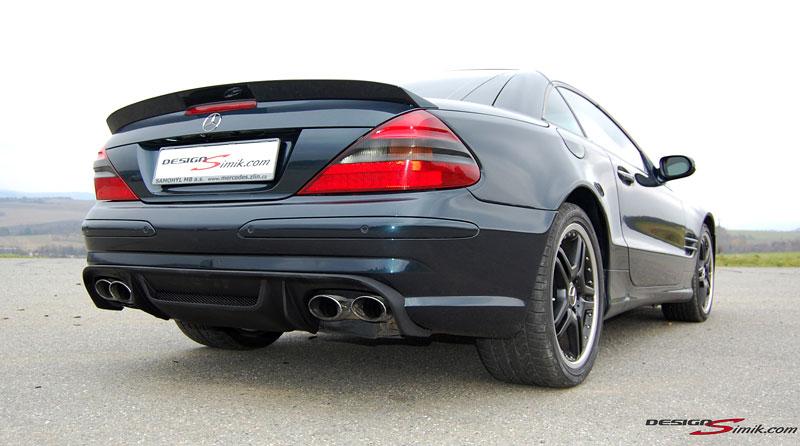 Mercedes-Benz SL by DesignSimik: optipaket nikdy neškodí: - fotka 8