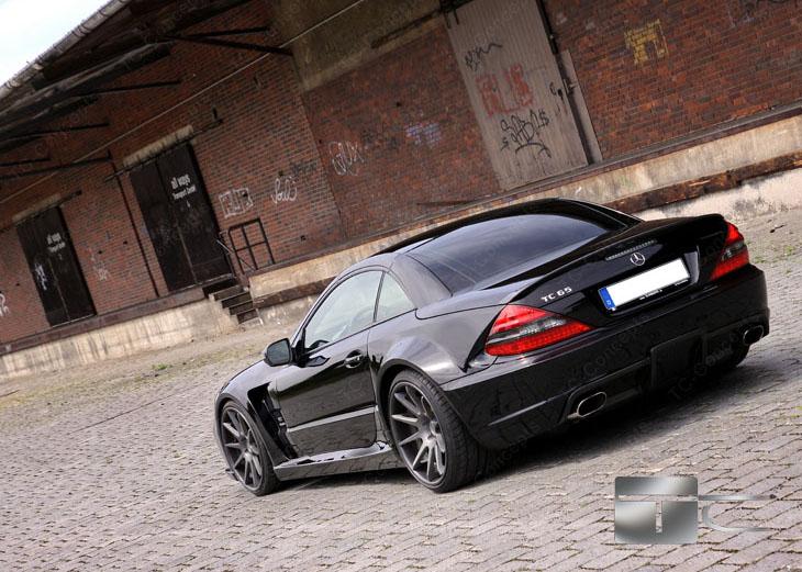 TC 65 EXESOR Biturbo: 700 koní a vzhled SL 65 AMG Black Series: - fotka 20