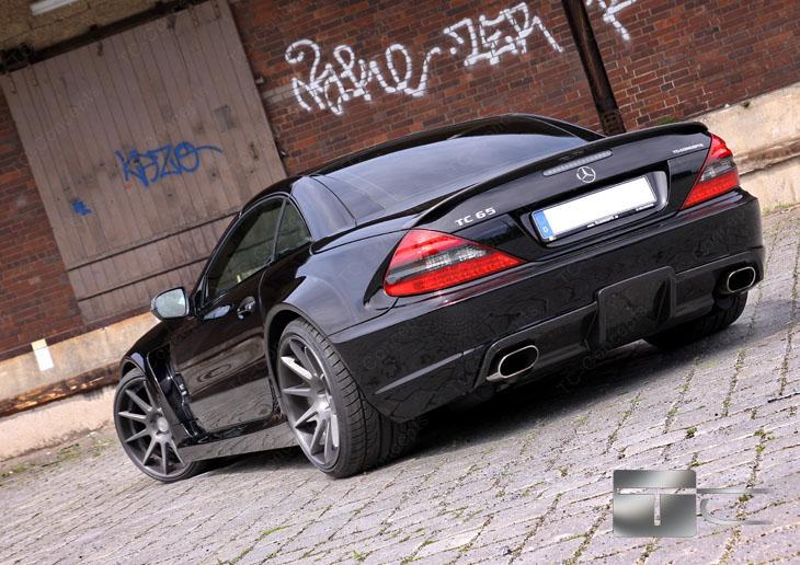 TC 65 EXESOR Biturbo: 700 koní a vzhled SL 65 AMG Black Series: - fotka 21
