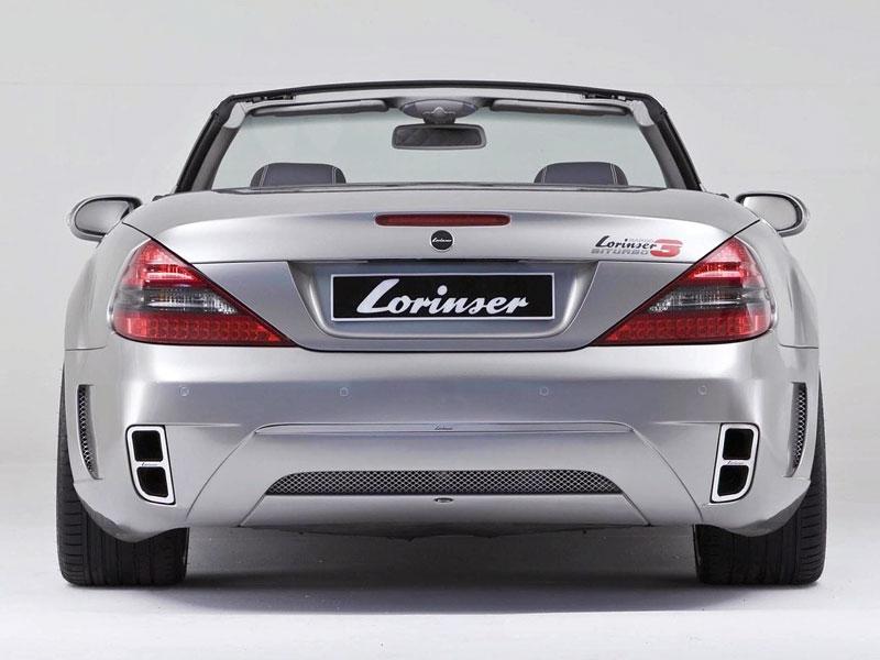 Lorinser Nardo3 Bi-Turbo: vyšlechtěný Mercedes SL: - fotka 6