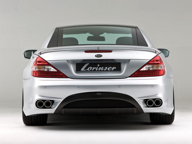 Lorinser Mercedes-Benz SL: aerokit baby: - fotka 8