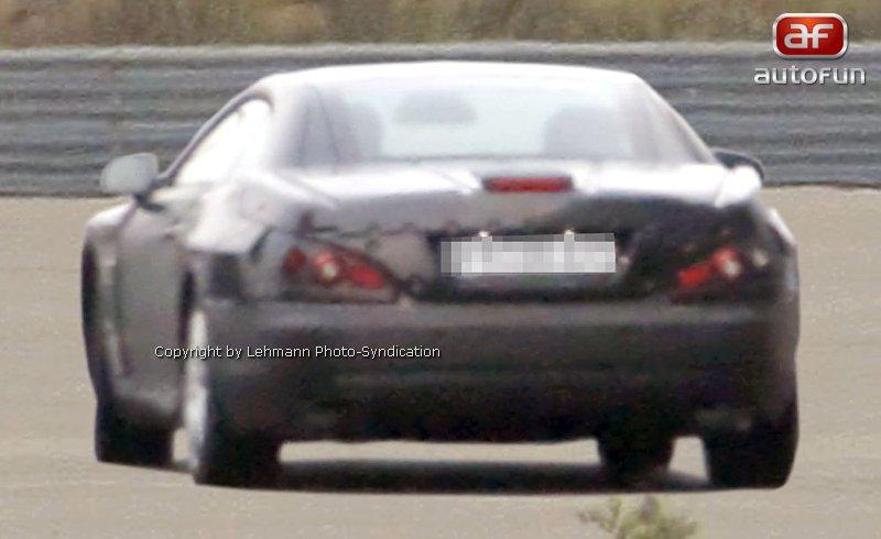 Spy Photos: Mercedes-Benz SL: - fotka 7
