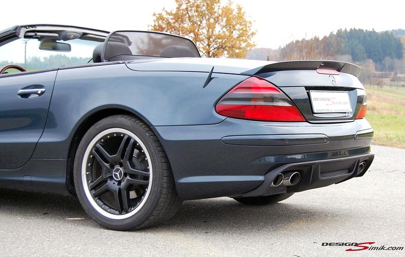 Mercedes-Benz SL by DesignSimik: optipaket nikdy neškodí: - fotka 13