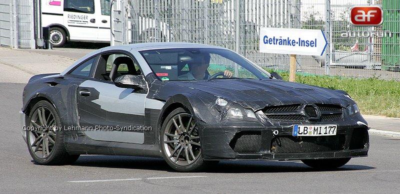 Spy Photos: Mercedes SLC: - fotka 1